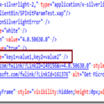 How to pass InitParams to Silverlight Application which is hosted as SharePoint 2010 web parts?