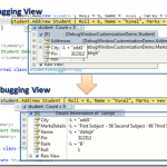 Customize the Debugging Windows : Change Debugging Window View as per your requirements