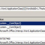 How Dynamic Language Runtime(DLR) feature in .NET Framework 4 is a boon for debugging COM objects