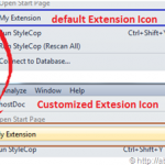 Customizing Visual Studio Extension Icon in Visual Studio 2010