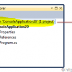 """Not able to view the solution file in Visual Studio"" – Hide and Show solution file in Visual Studio"