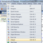 Automatically Show the Output Window During Build in Visual Studio