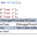 How to use DebuggerTypeProxy while debugging your sensitive Type