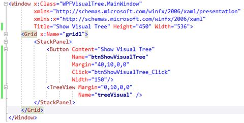 How to Retrieve WPF Visual Tree Programmatically ?