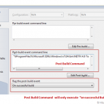 Install a shared Assembly to the GAC as post build event from Visual Studio
