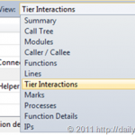 Inspecting Tier Interaction Profiling (TIP) results in Visual Studio 2010 Profiler