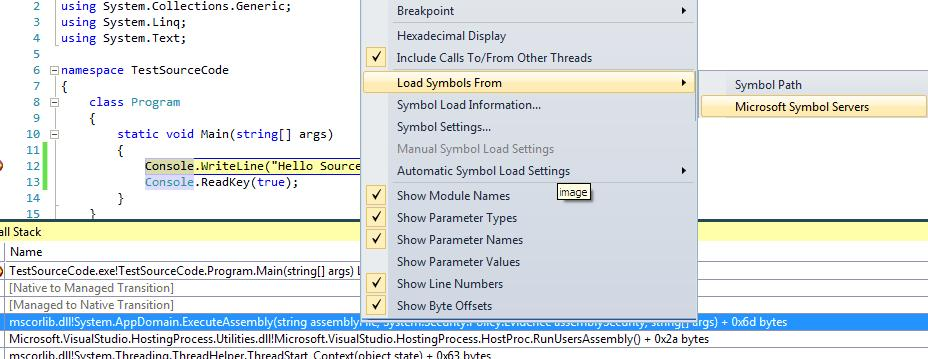 jstcode3 Looking at .NET Source code from Visual Studio