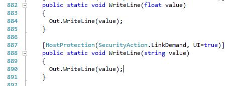 jstcode4 Looking at .NET Source code from Visual Studio