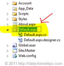 Renaming Project Files in Visual Studio 2011 Developer Preview