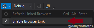 Linked Browser Enable Checked