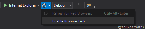 Linked Browser Enable