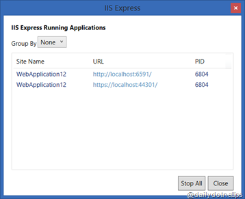 IIS Express SSL Site