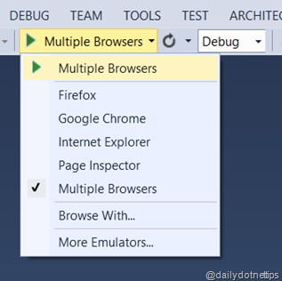 Multiple Browser Option