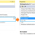 Enabling SSL with IIS Express in Visual Studio