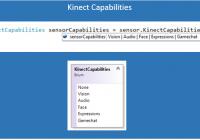 KinectCapability