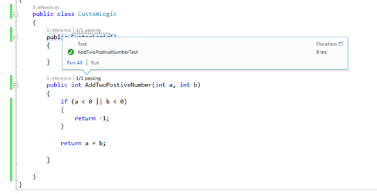 image11 How to write your very first Unit Test in Visual Studio using MSTest Framework easily ?