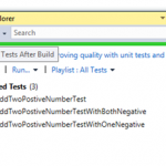Run Tests After Build – Automatically Running Unit Test After Build Success in Visual Studio