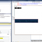 Working with Live XAML in Windows Universal Apps and Visual Studio 2015