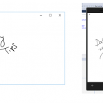 Easy drawing and inking using new InkCanvas Control for Universal Windows App