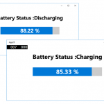 How to get the Battery information in your Universal Windows Apps