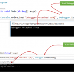 Back to Basic : Difference between Start Debugging & Start without Debugging in Visual Studio