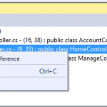 Find Results Vs. Find Symbol Results Window in Visual Studio