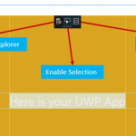 XAML Inspection Toolbar : Inspecting XAML for Live Debugging from the Apps