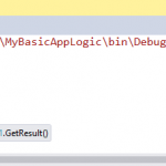 Calling current project methods from C# Interactive Window in Visual Studio 2015 ?