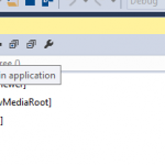 "Turn On / Off  – ""In-App XAML Inspection Toolbar"" from Visual Studio 2015"