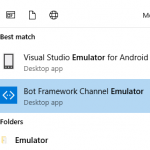 Building Your First Bot using Microsoft Bot Framework