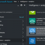 Rapid Development of  Intelligent Bot Using Azure Bot Service