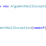 Directly throw Exception as an Expression – Throw expressions in C# 7.0