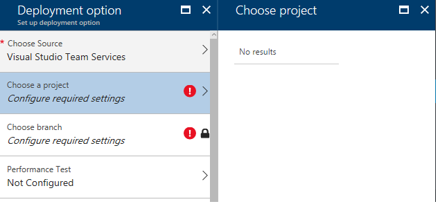 VSTS Projects